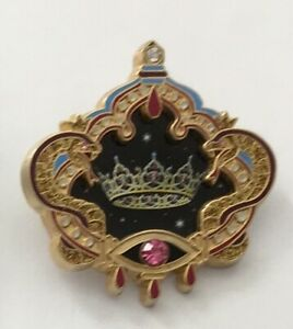 WDI-Castle-Crown-4-Snake-Crown-Eyes-Of-Mara-LE-500-Disney-Pin-B5