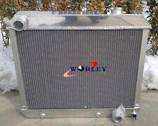 NEW 3 ROW 1963-1966 FOR Chevy Truck C10/C20/C30 aluminum radiator
