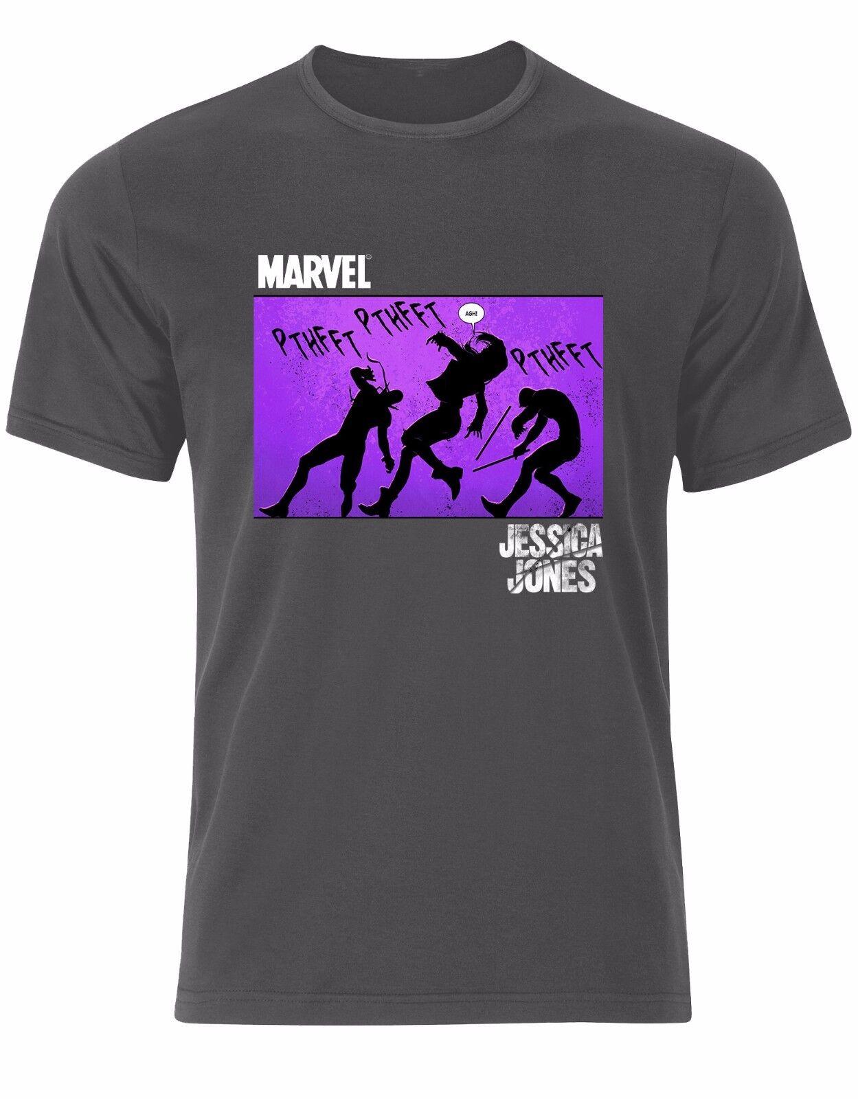 Jessica DC Jones Defenders Marvel DC Jessica Comics Super héros HOMME T-shirt Tee Top AL41 fdc7d5