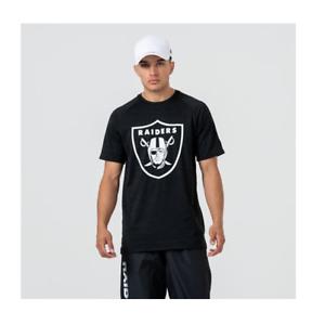 NFL Oakland Raiders T Shirt Mens S M L XL Raglan Long Sleeve Jersey