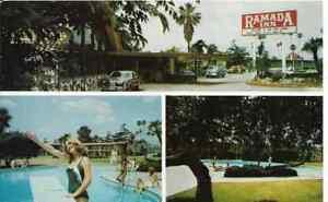 Arcadia-Santa-Anita-CA-034-Ramada-Inn-Motel-034-Postcard-California-FREE-US-SHIP