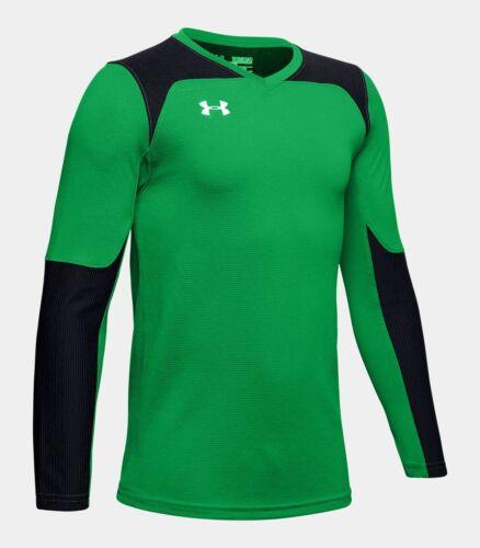 Under Armour Threadborne Goal Keeper Jersey Green//Black