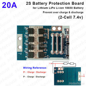 2S-20A-7-4V-Lithium-Li-ion-18650-Packs-BMS-Battery-Discharge-Protection-Board