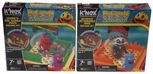 KNEX-Building-Sets-Pacman-Ghostly-Adventures-Lot-2-Spirals-Betrayus-World-Maze