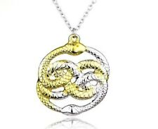 Auryn the never ending neverending story amulet necklace pendant item 2 the neverending story auryn pendant snake serpant amulet necklace the neverending story auryn pendant snake serpant amulet necklace mozeypictures Choice Image