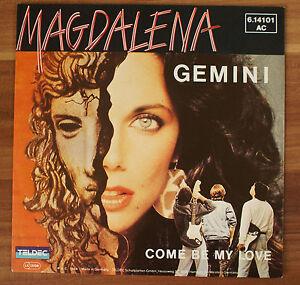 Single-7-034-VINYL-Magdalena-GEMINI-come-be-My-Love-GEMINI-6-14101ac-Teldec