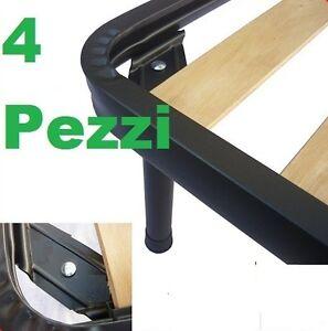 Piedi gambe universali 4 pezzi per rete in acciaio for Doghe ricambio