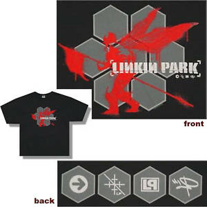 Details About Linkin Park Hexagon Soldier Black T Shirt Xl New Official Hybrid Theory Icons