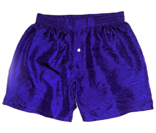 """Sizes 30-42/"""" 16 Colors Set of 6 Pure Silk Boxers by Royal Silk® Washable"""