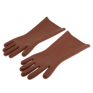 great prices quite nice new styles Details about 1 Pair 5KV High Voltage Electrical Insulating Gloves For  Electricians