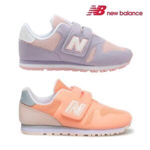 Bambina: scarpe New Balance 373 Scarpe Sneaker Bambini Ragazzi Grigio Rosa KA373P1Y-LILLA/ROSA Bambini 2 - 16 anni