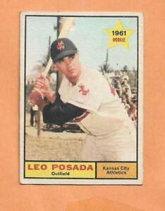 Leo Posada Débutant Topps 1961 Carte #39 0mtddegr-07231844-451966714