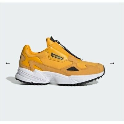New Adidas Falcon Zip W EE5113 - Yellow, Running Shoes Sneakers Sport  Trainers | eBay