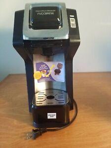 HAMILTON BEACH FlexBrew Single-Serve Coffee Maker (Black) & Coffee Filter Bundle 40094499793 | eBay