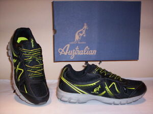 Su Ginnastica Tela Nere Sneakers Uomo Running Shoes Men Sportive Dettagli Australian Scarpe ZiuOPkX