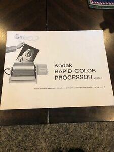 Kodak-Rapid-Color-Processor-Model-2-Users-Manual-Guide