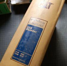 Cat Caterpillar 528 Grapple Skidder Repair Shop Service Manual Owner Log Guide