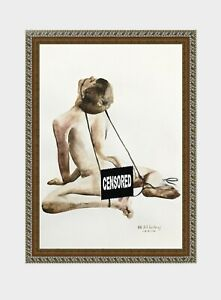 aquarelle-watercolor-A4-nude-male-drawing-originale-nu-rope-man-guy-new-45