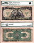 Rare 1922 $5 Bank of Hamilton Chartered issued note. PMG Certified, Good 6
