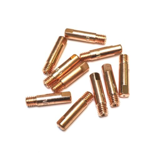 MB15 - 0.6mm M6 MIG Welding Contact Tips - Pack of 10