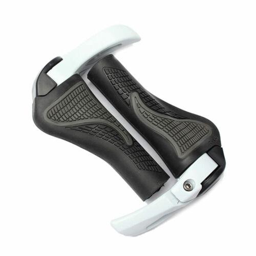 Anti-slip Bicycle Handlebar Grip Ergonomic Designed  Bike Bar Ends Horn Rubber