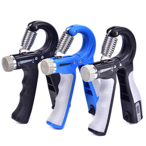 Hand Grip Trainer Gripper Strengthener Adjustable Gym Wrist Strength Exerci WR