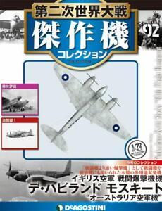 DeAGOSTINI-WW2-Aircraft-Collection-92-de-Havilland-DH-98-Mosquito-1-72-model