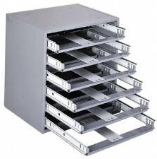 Durham 6 Drawer Small Parts Slide Rack Cabinet