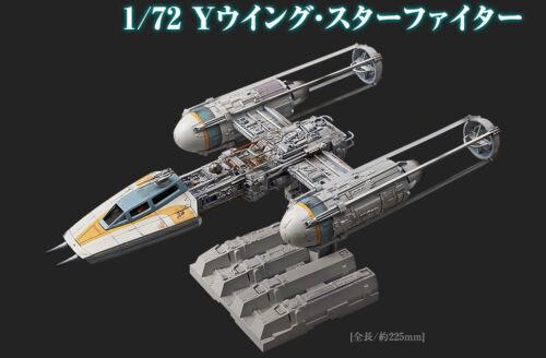 New BANDAI Star Wars Y-wing Starfighter Plastic Model 1//72 scale kit Japan