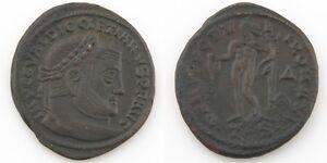 284-305-Roman-Imperial-AE-Follis-Coin-aXF-Diocletian-Genius-Thessalonica-RIC-25a