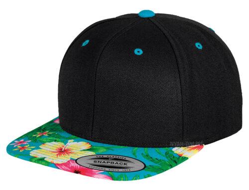 NEW *LEOPARD* SNAPBACK CAP BLACK PLAIN BASEBALL HIP HOP ERA FITTED FLAT PEAK HAT