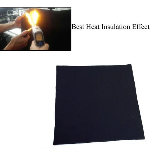 "12/"" x 12/"" x 1//4/"" thick Carbon Fiber Welding Blanket torch shield plumbing heat"