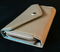 Beige Wristlet Cell Phone Wallet - Brand With Tags