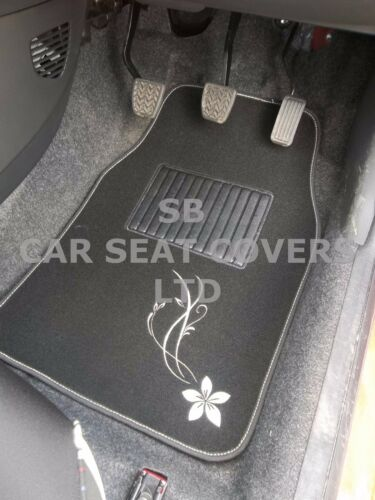 SILVER FLOWER 2 PIECE FRONT MATS i TO FIT A CITROEN C5