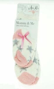 Alexa Rose Mommy and Me Fuzzy Socks
