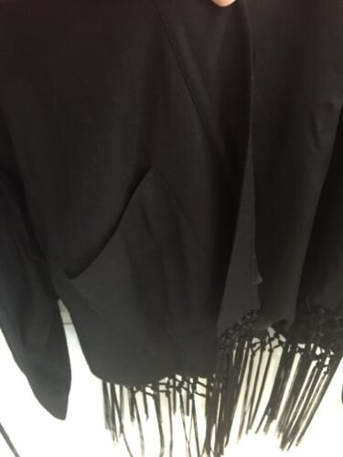 l M Lynn Corey Anthropologie Kimono Broderet Sjælden Poncho Fugl Nwt Calter z7vwnq