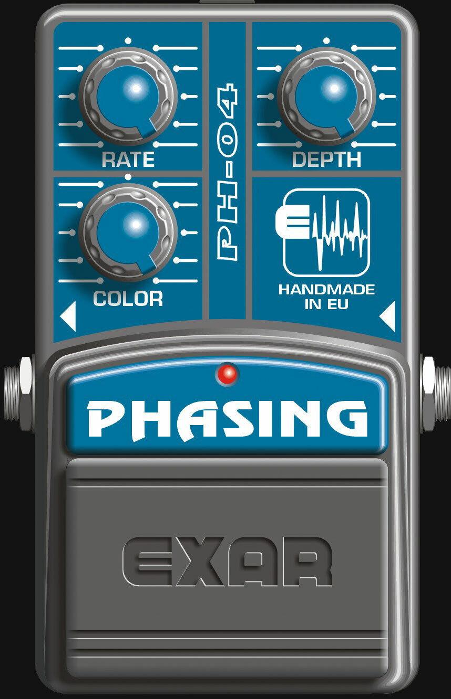 Exar Phasing PH-04 True Bypass Phaser Pedal, Mega-Angebot