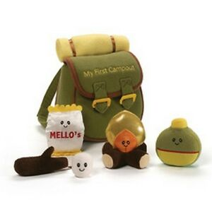 BABY GUND - MY LITTLE CAMPOUT PLAYSET - 5 PIECE - BACKPACK - 2017