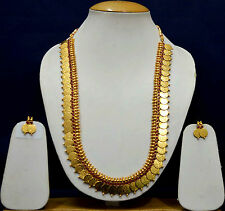 Unique Gold Women Ginni Necklace Sets Earrings Ruby Bridal Jewellery Sets SSC9