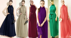 Bridesmaids-039-amp-Formal-Dresses-Ball-Gown-Cocktail-Evening-5Colours-Size-8-20-BNWT