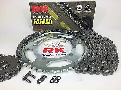 RK 520XSO X-Ring Steel Replacement Chain Kit Sprocket Kit 2062-100E