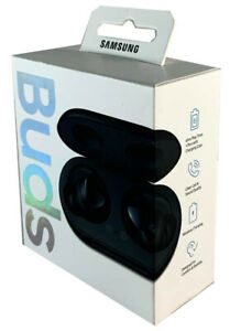 Samsung Galaxy Buds Sm R170nzkax 2019 Bluetooth True Wireless Earbuds Black Ebay