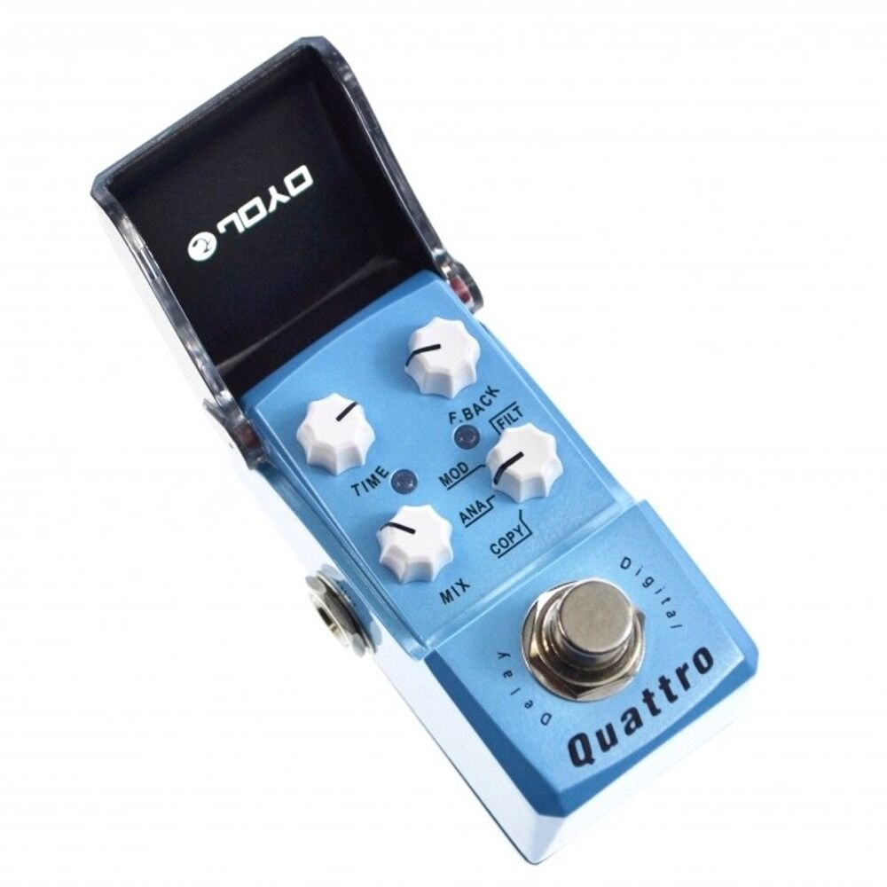 Joyo JF-318 Quattro Digital Delay Copy Analog Guitar Effect True True True Bypass Pedal 421c71