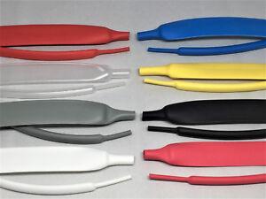 Meterware-Schrumpfschlauch-2-1-3-1-4-1-mit-ohne-Kleber-verschiedene-Farben