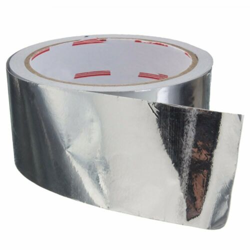 Aluklebeband bedampft  20m//50m Lange Alu Klebeband Aluminiumband Aluminium