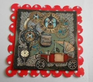 PK-2-MALE-STEAMPUNK-HAPPY-BIRTH-DAY-EMBELLISHMENT-TOPPERS-FOR-CARDS-AND-CRAFTS