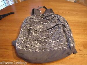 Juniors-womens-girls-O-039-Neill-book-bag-back-pack-grey-gray-bookbag-backpack-NEW