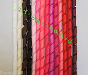 5-Pieces-10mm-KORKER-Grosgrain-Ribbon-15-Colours-U-PICK-White-Black-Pink-Red