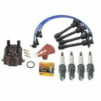 Toyota Corolla 1.6l 1.8l Cap Rotor Ngk Wires Platinum Spark Plug O Ring Kit on sale