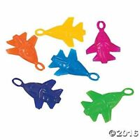 12 Flying Stretchable Airplanes Kids Birthday Party Favors Toys